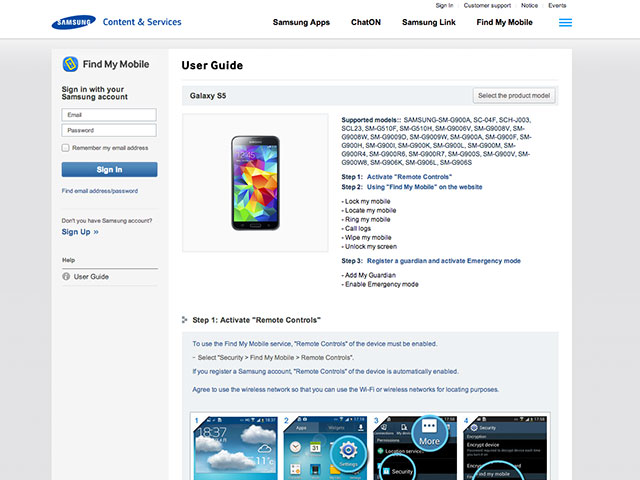 Doc Samsung Galaxy S5 Premium