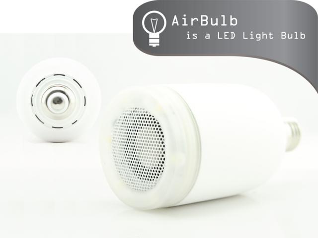 AirBulb, l'ampoule connectée qui s'intéresse aussi au son