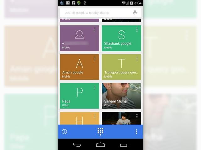 Serait-ce l'application Téléphone d'Android 4.4.3 ?