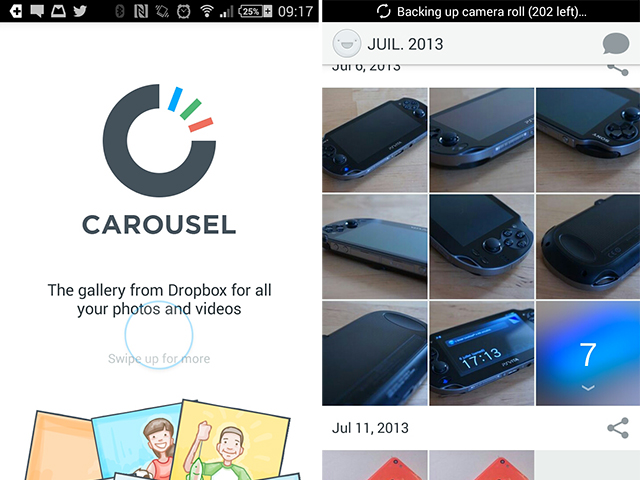 Carousel iOS Android