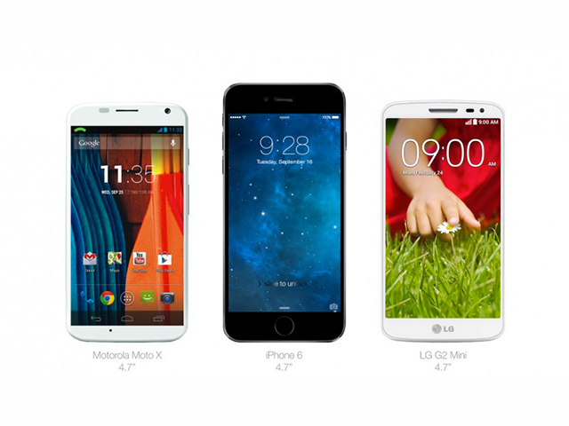 Comparatif iPhone 6 : image 1