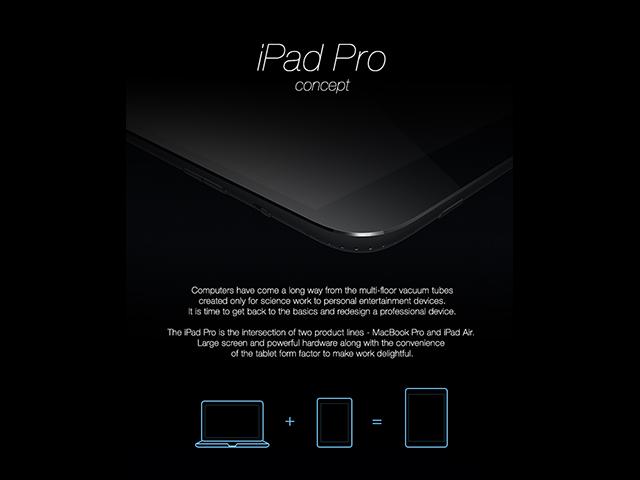 Concept iPad Pro : image 1