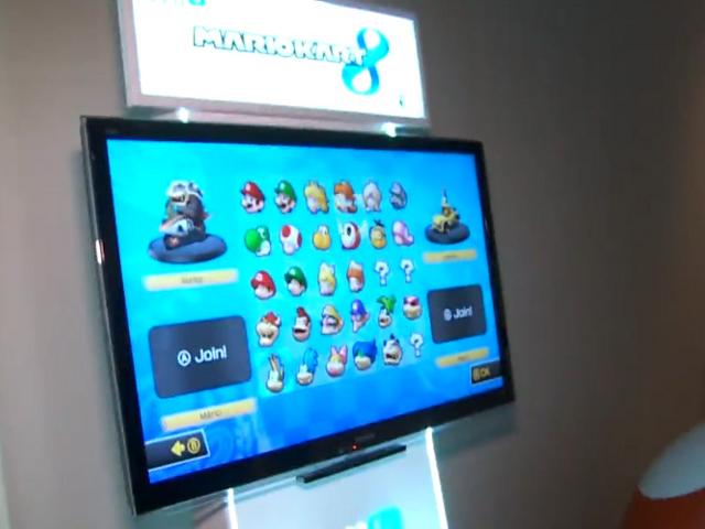 L'écran de sélection des personnages de Mario Kart 8 se dévoile