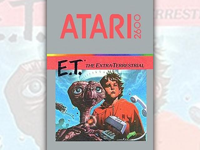 E.T. sur Atari 2600, le pire jeu déterré