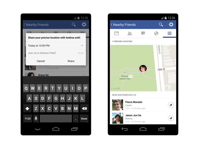 """Facebook lance """"Amis proches"""""""