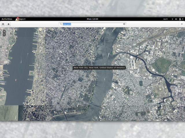 GNOME Maps, une future bonne alternative à Google Maps ?