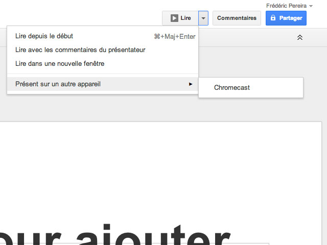 Google Drive Chromecast