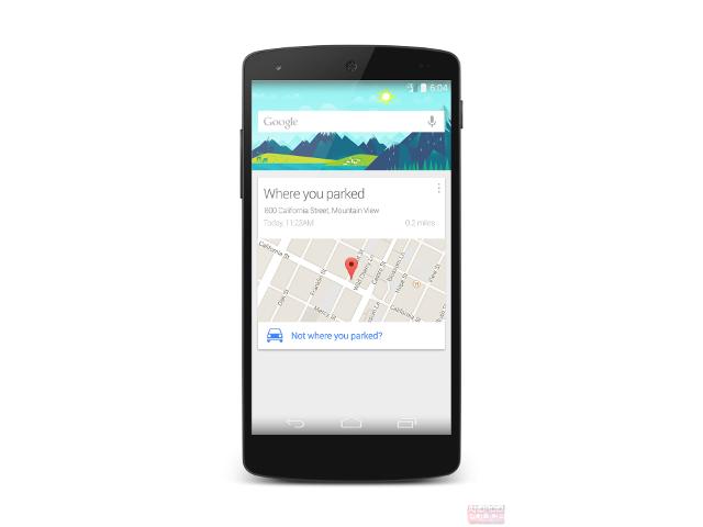 Google Now va vous permettre de retrouver votre voiture