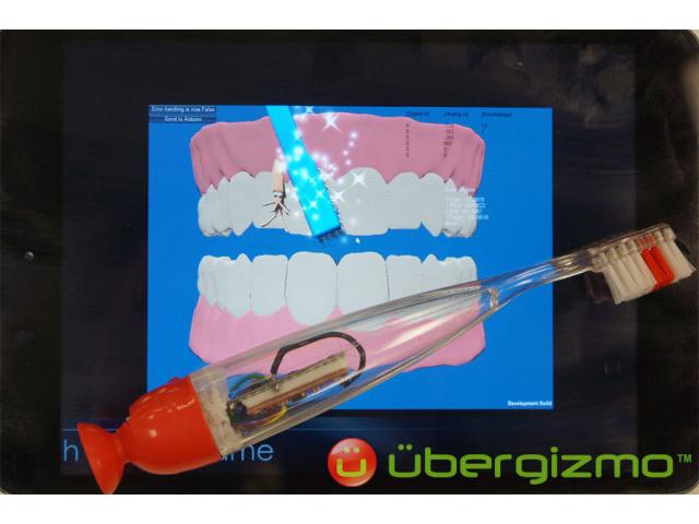 Grush, la brosse à dent connectée