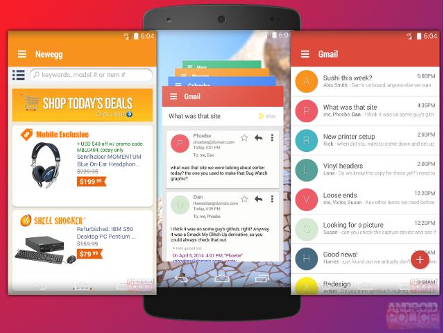 Hera compte unifier toutes les applications Android de Google
