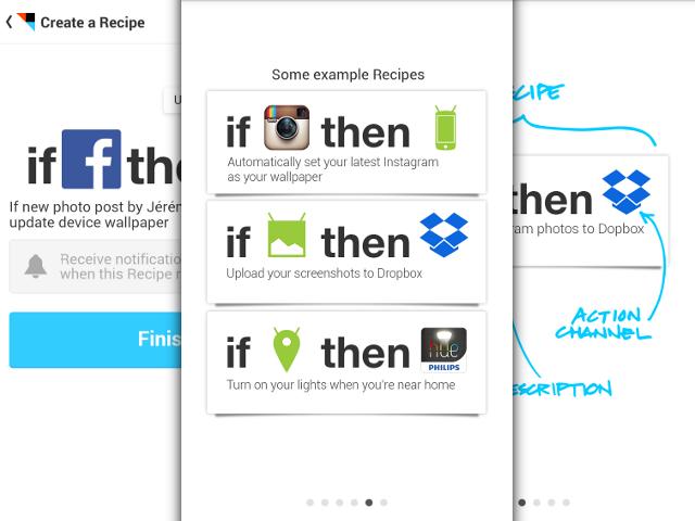 IFTTT est arrivé sur Android