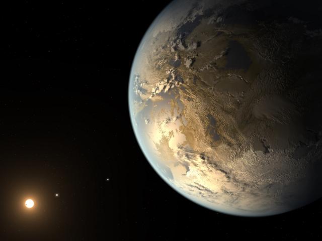 Kepler-186f, une exoplanète qui pourrait bien abriter la vie