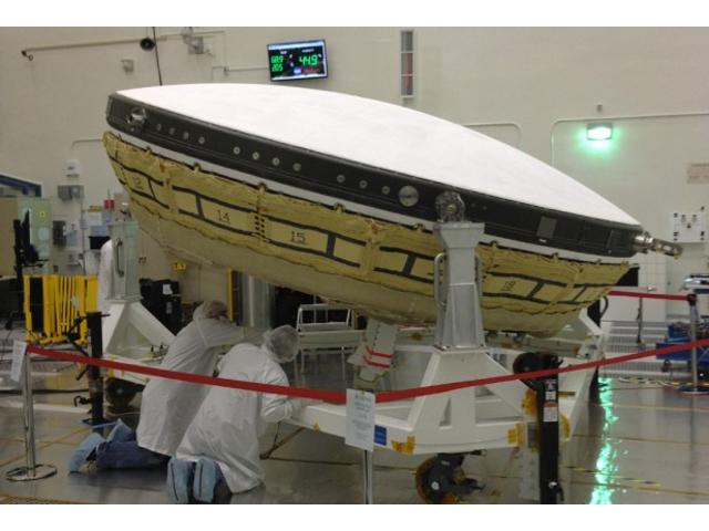 LDSD, la soucoupe volante façon NASA