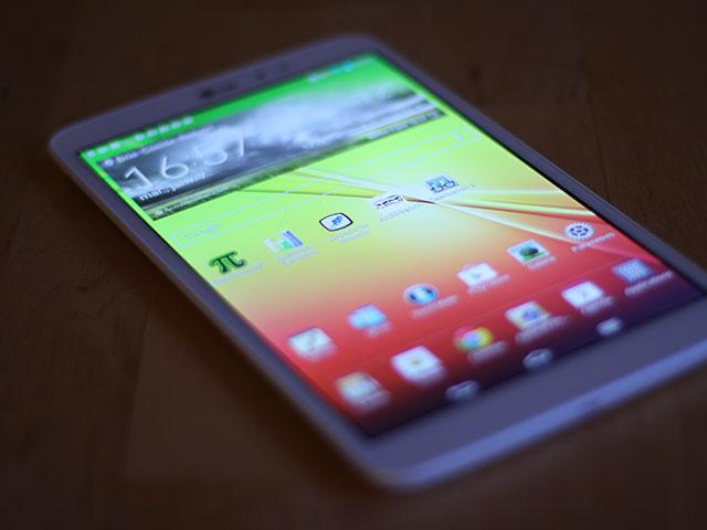Nouvelles tablettes LG