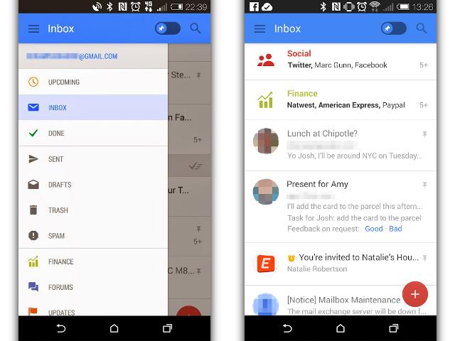 Bientôt une mise à jour pour Gmail sur Android ?