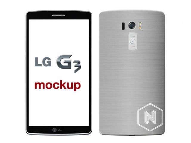 Mockup LG G3