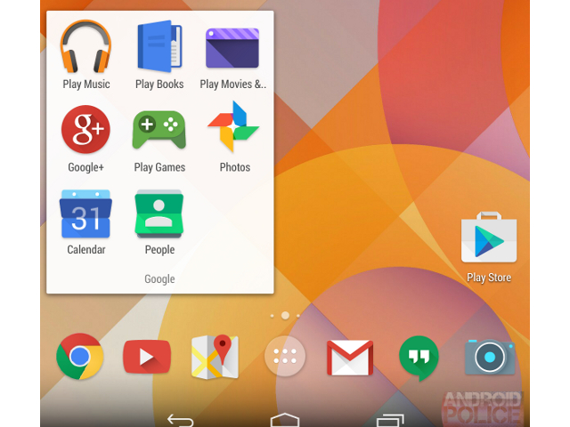 Moonshine, le redesign des icônes des applications Android de Google