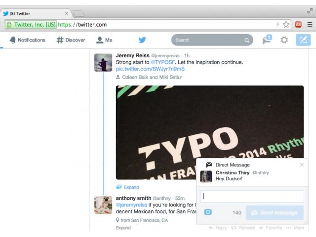 Les nouvelles notifications de Twitter arrivent