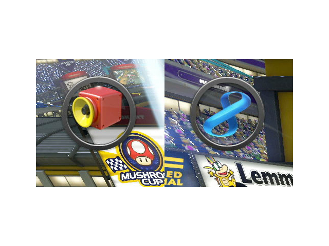 Deux nouveaux objets apparaissent dans Mario Kart 8