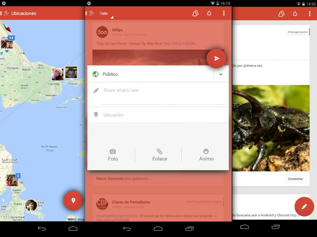 La nouvelle version de Google+ pour Android ?