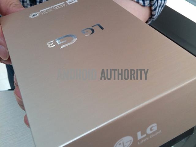 Photo boite LG G3 : image 1