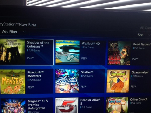 PlayStation Now : capture 2