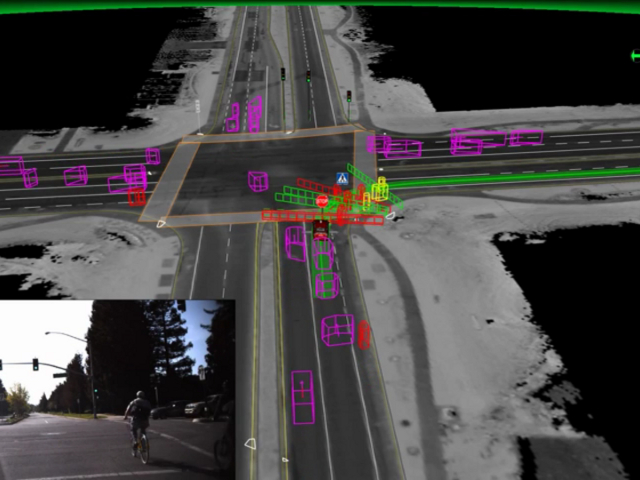 Les voitures autonomes de Google se montrent très vigilantes