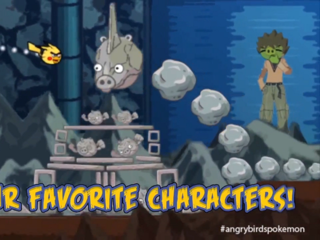 Angry Birds Pokémon
