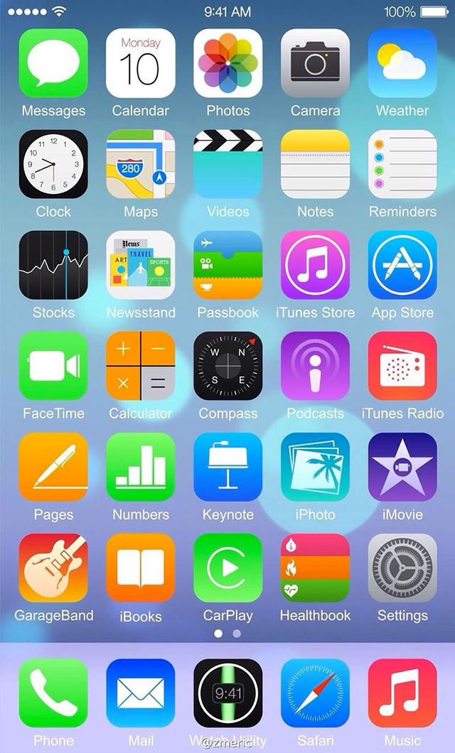Capture iOS 8 : image 2