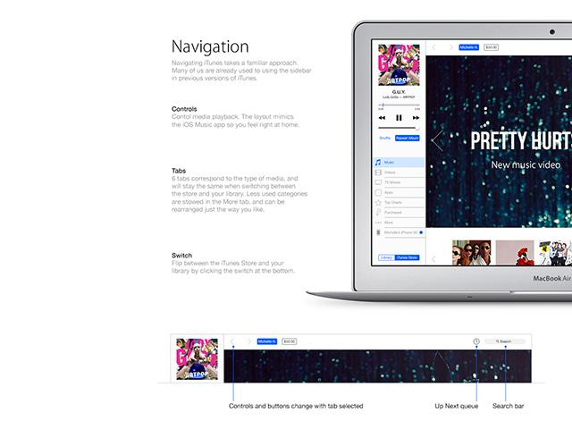 Concept iTunes 12 : image 3