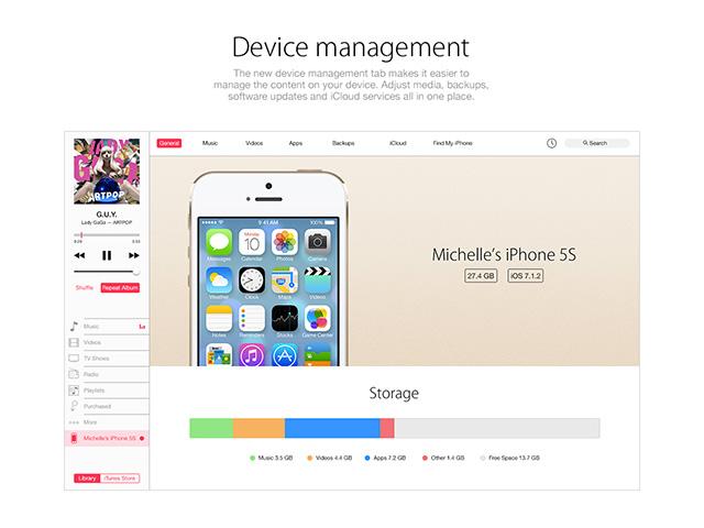 Concept iTunes 12 : image 5