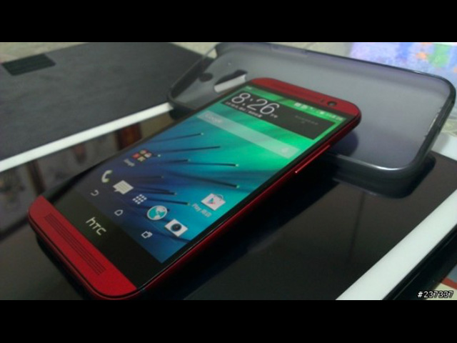 HTC One 2014 rouge : photo 1