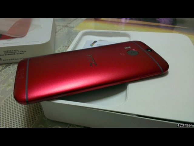HTC One 2014 rouge : photo 2