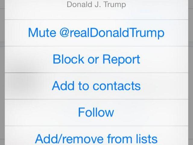 Ignorer un utilisateur sur Twitter, ce serait bientôt possible