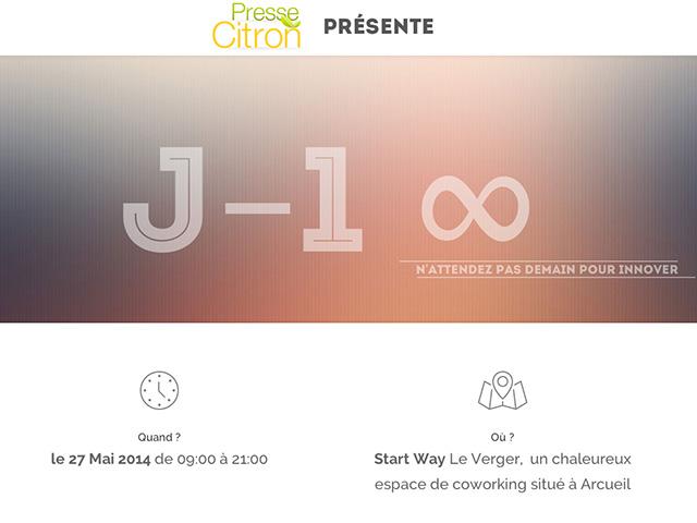 J-1 Presse Citron