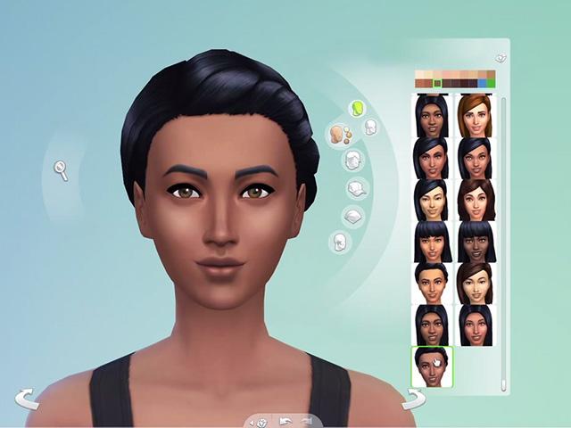 Les Sims 4 : vidéo création personnage