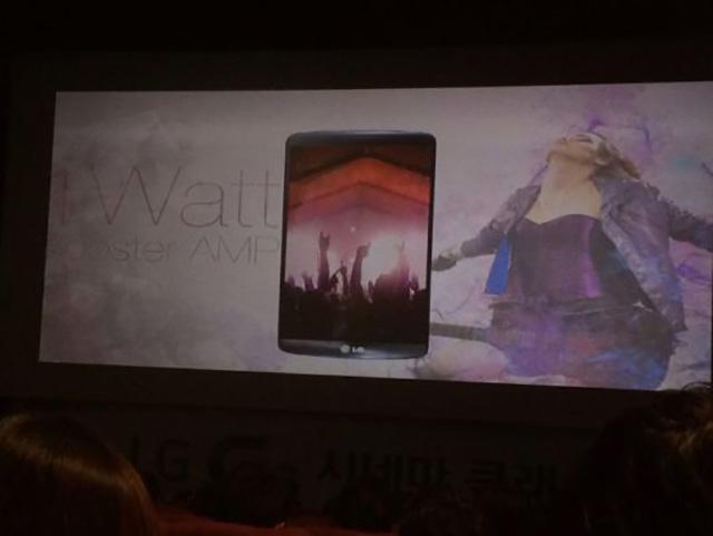 LG G3 : slide 3