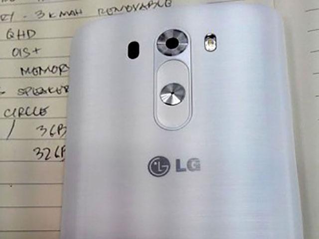Spécifications LG G3 mai14