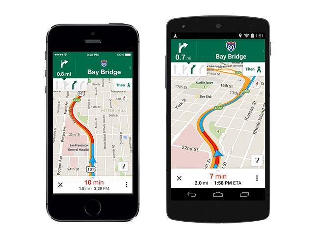MAJ Google Maps mai 14