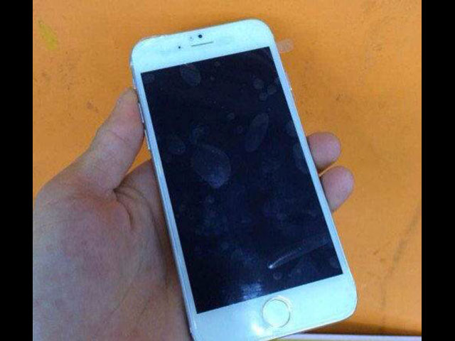 Maquette iPhone 6 Silver : image 1