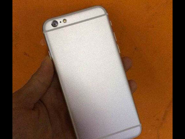 Maquette iPhone 6 Silver : image 3