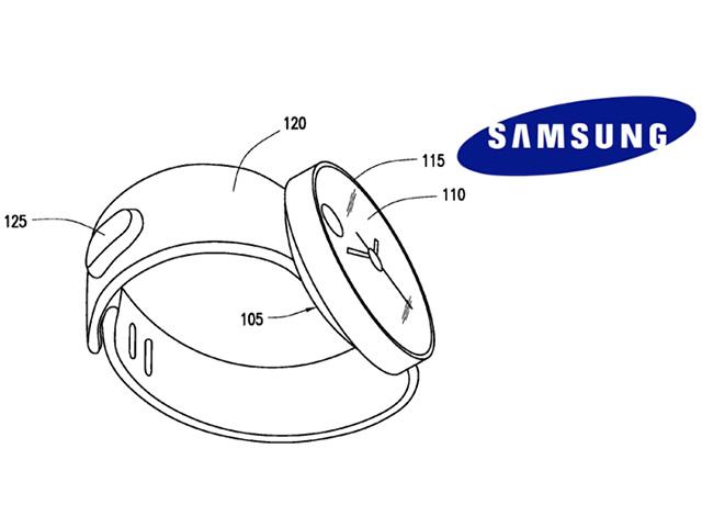 Brevet Montre Samsung 2