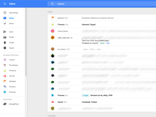 Nouvelle interface Gmail : image 1
