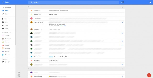 Nouvelle interface Gmail : image 2