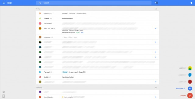 Nouvelle interface Gmail : image 3