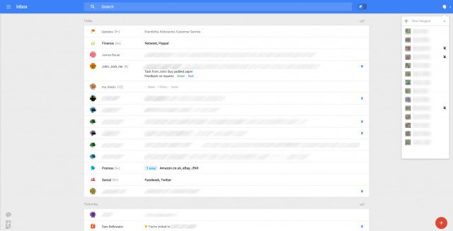 Nouvelle interface Gmail : image 4