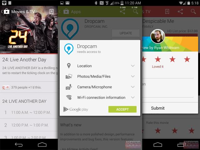 Une nouvelle version pour le Google Play Store
