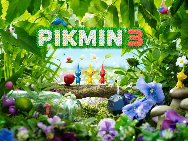 Mise à jour pour Pikmin 3