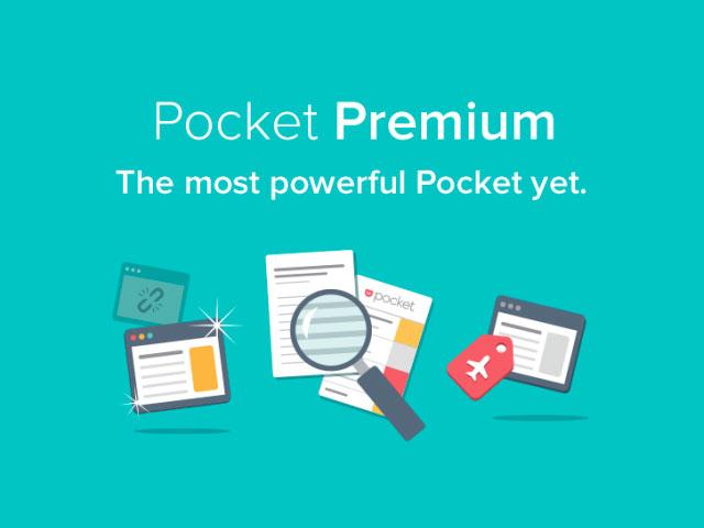 Pocket Premium : capture 1