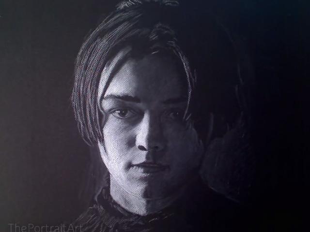 Portrait Arya Stark